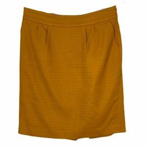 Banana Republic | Mustard Yellow Skirt